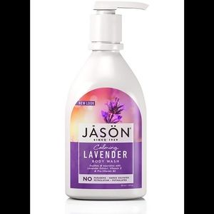 Large bottle of lavender scented body wash new
